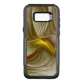 Colors of Precious Metals, Abstract Fractal Art OtterBox Commuter Samsung Galaxy S8+ Case
