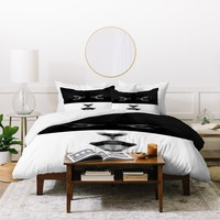 Three Of The Possessed Luna Duvet Cover