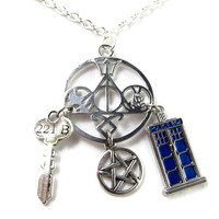 Fandom Explosion - A Multi Fandom Necklace