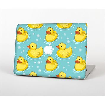 The Cute Rubber Duckees Skin Set for the Apple MacBook Air 13""