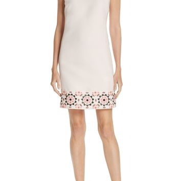 kate spade new york mosaic embellished shift dress | Nordstrom