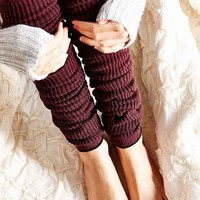 Ultra-High Knit Legwarmer-