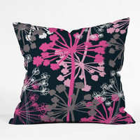 Rachael Taylor Cow Parsley Throw Pillow