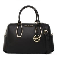 """Michael Kors"" Simple Fashion All-match Single Shoulder Messenger Bag Women MK Boston Pillow Handbag"