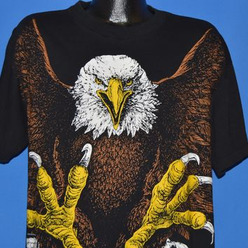90s Bald Eagles All Over Print t-shirt Extra Large