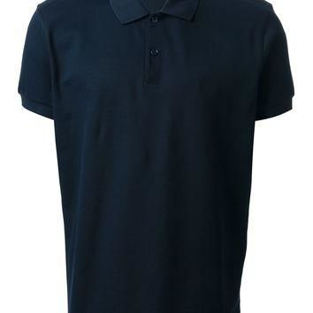 Saint Laurent Logo Polo Shirt