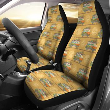 Tribal Hippie Car Seat Covers