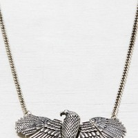 AEO Women's Eagle Necklace (Silver)
