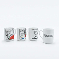 Peanuts Stacking Mugs Set - Urban Outfitters
