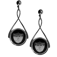 NFL - Oakland Raiders Tear Drop Earrings