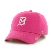 MLB Detroit Tigers Women's Magenta Miata Adjustable Clean Up Hat