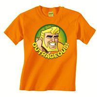 Aquaman Outrageous Mens T-Shirt