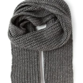 Zadig & Voltaire ribbed knitted scarf