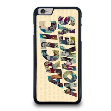 arctic monkeys characters iphone 6 6s plus case cover  number 1
