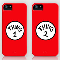 Thing 1 and Thing 2 Collage  by Kian Krashesky