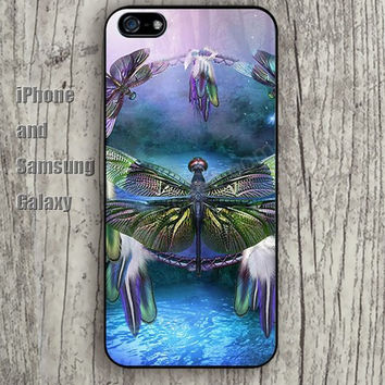 dream Dragonfly iphone 6 6 plus iPhone 5 5S 5C case Samsung S3,S4,S5 case Ipod Silicone plastic Phone cover Waterproof