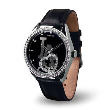 Los Angeles Dodgers MLB Beat Series Women's Watch