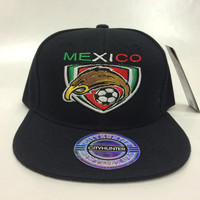 Mexico Soccer Hat/Cap World Cup Team Logo BRAZIL 2014 snapback, fitted, flexfit