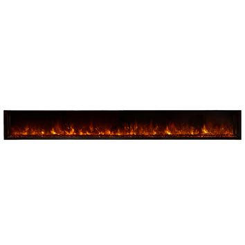 "Modern Flames 120"" Built-in Electric Fireplace (LFV12015-SH)"