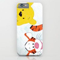 winnie the pooh and tigger iPhone & iPod Case by Art_By_Sarah