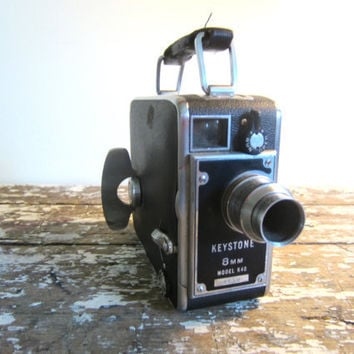 Vintage Movie Camera Keystone 8MM Model by VintageShoppingSpree