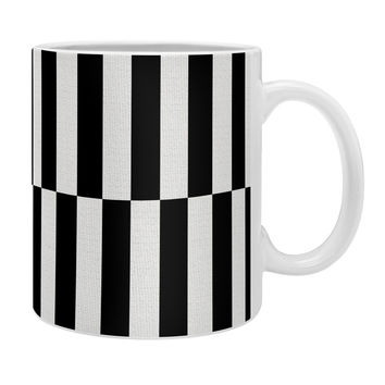 Bianca Green Black And White Order Coffee Mug