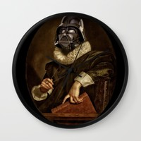 baroque darth Wall Clock by Startistunknown
