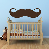 Moustache Wall Decal
