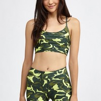 Combat Bra in Fluro Camo by HPE | New Arrivals | BANDIER