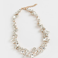 Elaine Crystal Statement Necklace