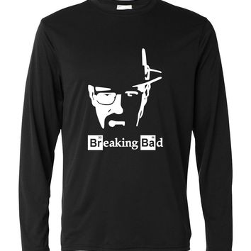 Breaking Bad T Shirt Men 2017 man's white kpop long sleeve brand clothing new harajuku fitness Tops harajuku Tees