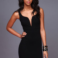 The Perfect Plunge Bodycon Dress - LoveCulture