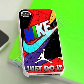 Nike Just Do It Jordan Raptor - iPhone 4/4s/5 Case - Samsung Galaxy S2/S3/S4 Case - Bl