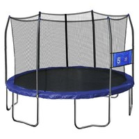 Skywalker Kids Trampoline Round Jump-N-Toss with Enclosure - 12'