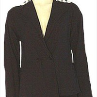 Bergdorf Goodman Black 1950s Jacket