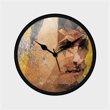 German Klose Wall Clock | Artist: Malvika Asher