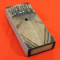 Small Kenyan Kalimba Thumb Piano