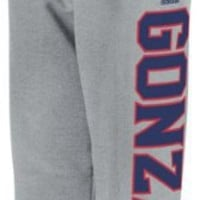 Gonzaga Bulldogs adidas Grey Fleece Sweatpants
