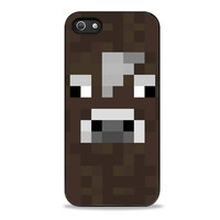 the cow minecraft Iphone 5s Cases