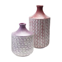 Woven Vases Radiant Orchid,Lilac