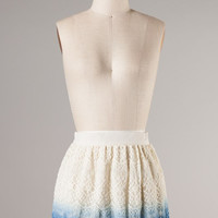 Ombre Lace Skirt