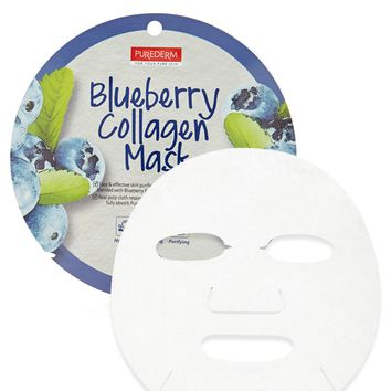 Blueberry Collagen Sheet Mask