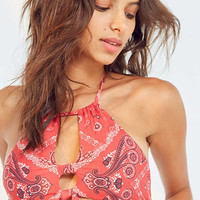 ale By Alessandra High Neck Bikini Top | Urban Outfitters