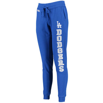 Women's Concepts Sport Royal Los Angeles Dodgers French Terry Pants