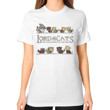 Lord of the cat Unisex T-Shirt (on woman)