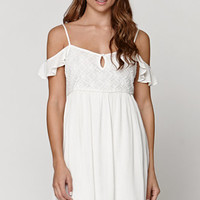 LA Hearts Cold Shoulder Babydoll Dress at PacSun.com