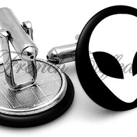 Alien Image Cufflinks