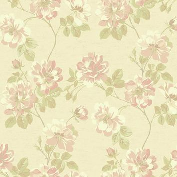 York JC5904 Opal Essence Wild Rose Wallpaper