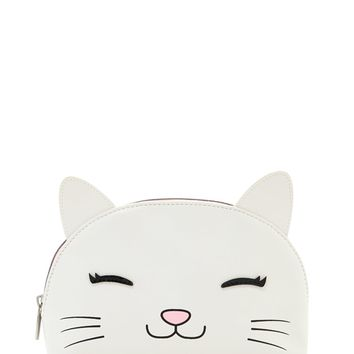 Happy Cat Makeup Bag