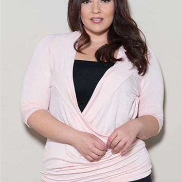 Plus Size Tops | Faye Top | Swakdesigns.com